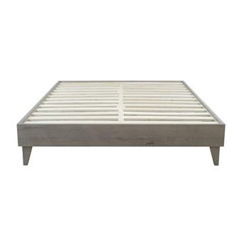 eLuxurySupply Wood Platform Bed Frame