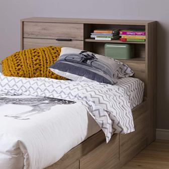 outh Shore Fynn Headboard with Storage,