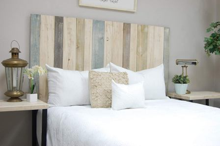 Barn Walls Farmhouse Mix Headboard