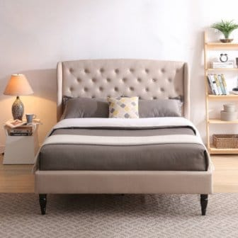 Classic Brands DeCoro Coventry Upholstered Platform Bed