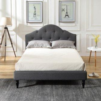 Classic Brands DeCoro Winterhaven Upholstered Platform Bed