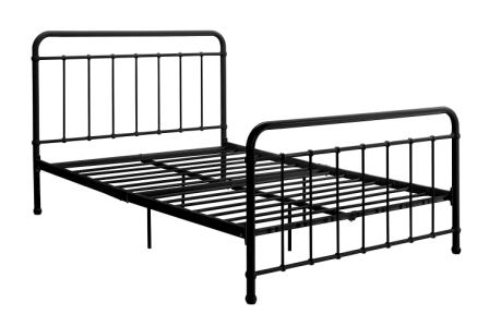 DHP Brooklyn Metal Iron Bed Frame