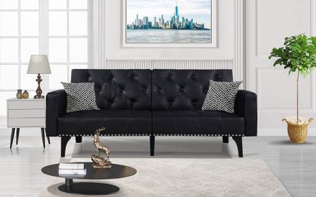 DIVANO ROMA FURNITURE Sleeper Futon Sofa