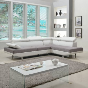 Divano Roma Furniture Sectional Sofa Bed