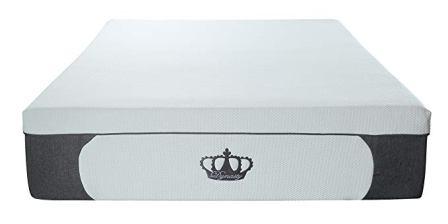 DynastyMattress 14.5-inch Plush Gel CoolBreeze Memory Foam Mattress
