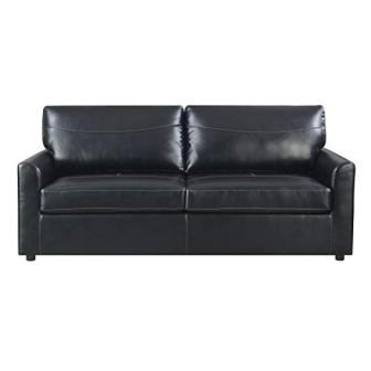 Emerald Home Slumber Black Sleeper Sofa