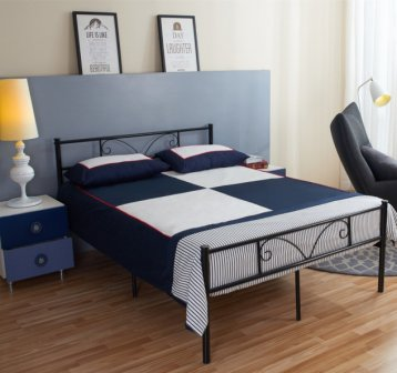 GreenForest Bed Frame Full Size with Headboard