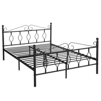 GreenForest Metal Platform Bed Frame