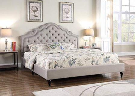 Beige 2019 LIFE Home Platform Bed