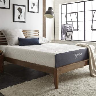 Hybrid Memory Foam Mattress by Perfect Cloud (Twin) - Experience The Soft Touch of Memory Foam