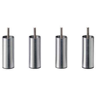 IKEA Bjorli 3 78″ Silver Metal Steel Bed Risers