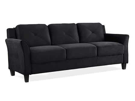 KD Rolled-Arm Collection Grayson Sofa by Lifestyle Solutions