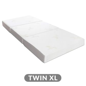MILLARD TRI-FOLD MATTRESS WITH ULTRASOFT REMOVABLE COVER
