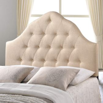 MODWAY SOVEREIGN BUTTON TUFTED POLYESTER HEADBOARD