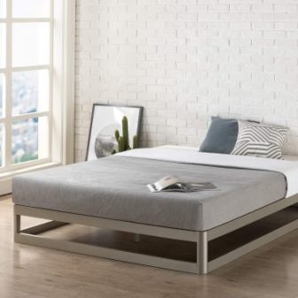 Mellow King 9″ Metal Platform Bed Frame