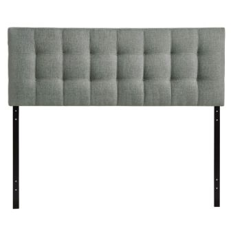 Modway Lily Tufted Linen Fabric Upholstered Full Headboard