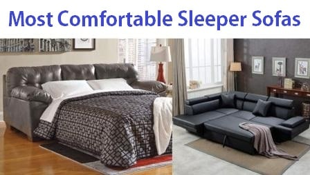 Top 15 Most Comfortable Sleeper Sofas In 2020 Complete Guide