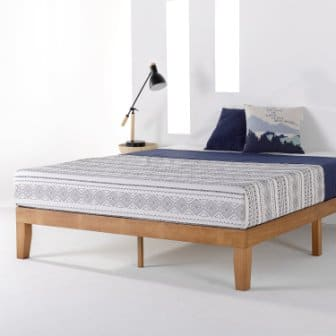 Naturalista Classic Wood Platform Bed Frame by Mellow