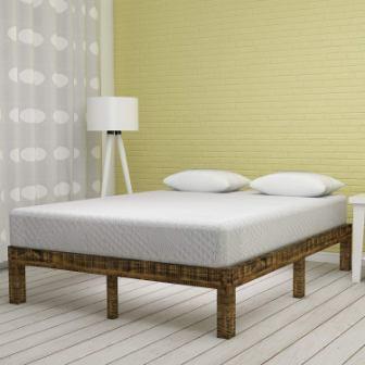 Olee Sleep Ventilated Convolution Memory Foam Mattress