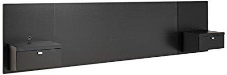 Prepac BHHQ-0520-2K Series 9 Designer Floating Headboard