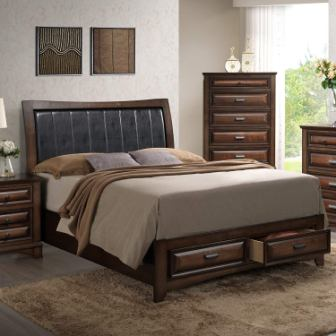 Roundhill Nanterre Furniture Bed (King size)