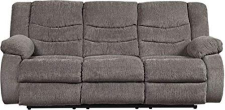 Signature Design by Ashley 9860688 The Tulen Reclining Sofa, Gray