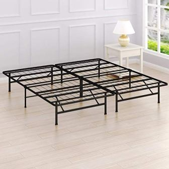 Simple Houseware's 14-Inch King Size Mattress Foundation Platform Bed Frame