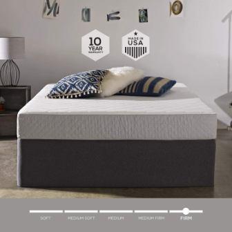 Sleep Innovations Sage Cooling Gel Memory Foam Mattress