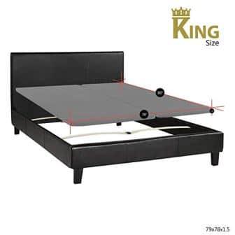 Spinal Solution's King Size Platform Bed