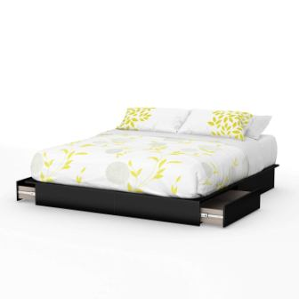 Step One Platform Bed with Storage by South Shore