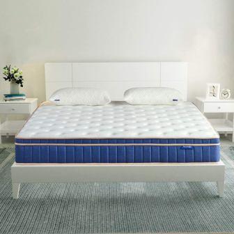 Sweetnight Twin Size Gel Memory Foam Hybrid Mattress