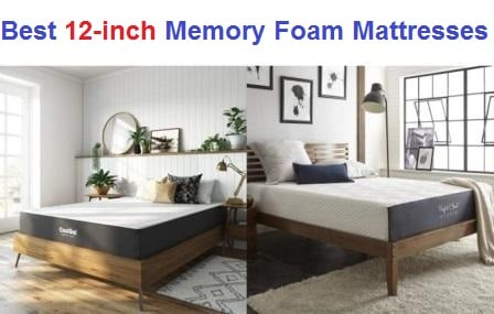 Top 15 Best 12-inch Memory Foam Mattresses