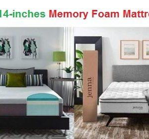 Top 15 Best 14-inches Memory Foam Mattresses in 2019