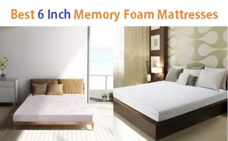 Top 15 Best 6 Inch Memory Foam Mattresses Ultimate Guide