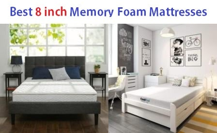 Top 15 Best 8 inch Memory Foam Mattresses in 2019