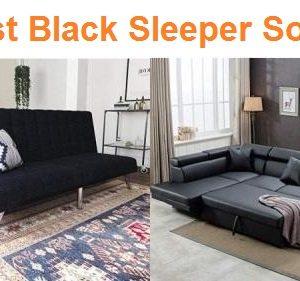 Top 15 Best Black Sleeper Sofas in 2019 – Complete Guide