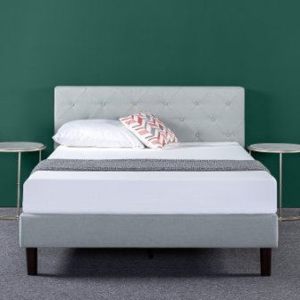 Top 15 Best Fabric Bed Frames in 2019 - Complete Guide