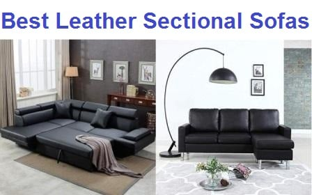 best leather sectional
