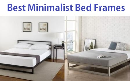 Top 15 Best Minimalist Bed Frames in 2019
