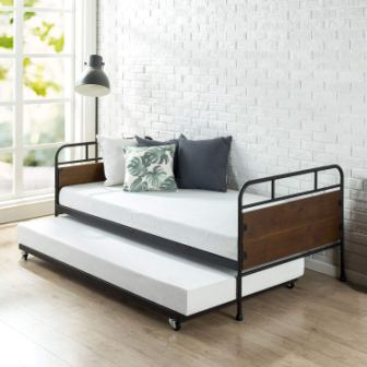 Zinus Eli Twin Daybed and Trundle Set