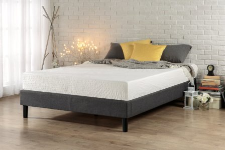 Zinus Essential Upholstered Platform Bed Frame