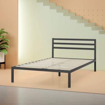 Zinus Mia Modern Studio Platform 1500H Metal Bed Frame