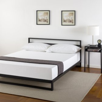 Zinus Trisha Platform Bed Frame with Headboard