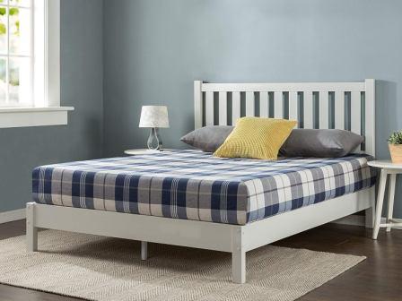 Zinus Wen Deluxe Wood Platform Bed