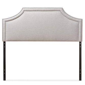 Baxton Studio Guifford Modern & Contemporary Fabric Upholstered Headboard