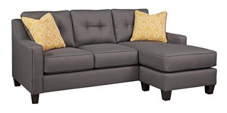 Benchcraft – Aldie Nuvella Sofa Chaise Sleeper