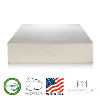 Brentwood Home Bamboo Gel Memory Foam Mattress - Review