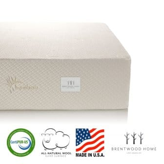 Brentwood Home Bamboo Gel Memory Foam Mattress - Review