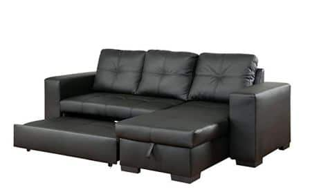 Furniture of America Charlton Contemporary Corner Sectional Sofa