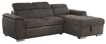 Homelegance Ferriday 98″ x 66″ Sectional Sleeper Sofa